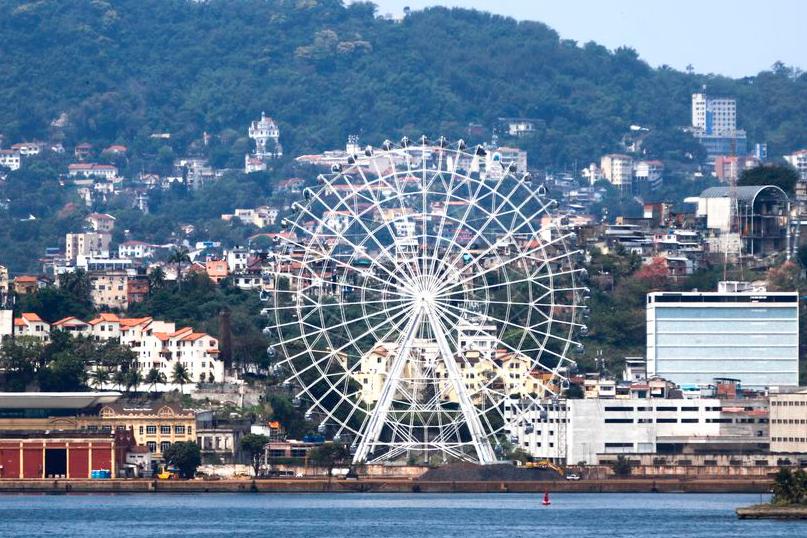 Maior roda-gigante da América Latina será inaugurada hoje no Rio