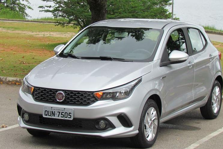 Fiat Argo: No centro da meta
