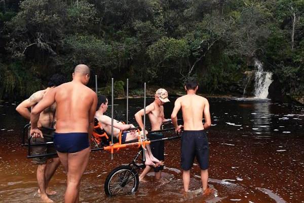 Parque do Ibitipoca oferece novidade para pessoas com necessidades especiais