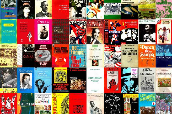Livros essenciais do samba
