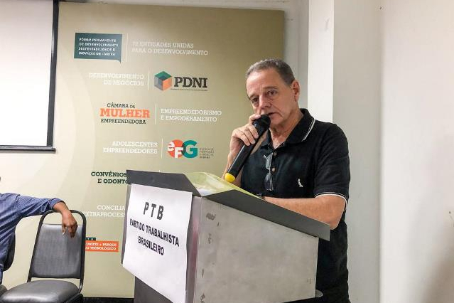 Prefeito Ronaldo Magalhães reuni aliados e anuncia sua pré-candidatura à reeleição em Itabira