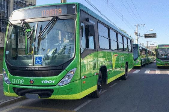 Confira os novos horários do ônibus coletivo em Itabira