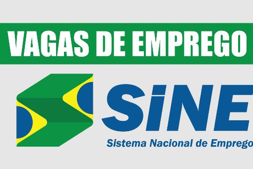 VAGAS DE EMPREGO - SINE ITABIRA