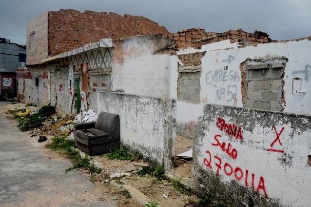 """Bairros que """"afundaram"""" em Maceió devido à mineração podem virar floresta;"""