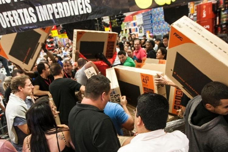 Semana da Black Friday registra aumento de 9,9% nas vendas