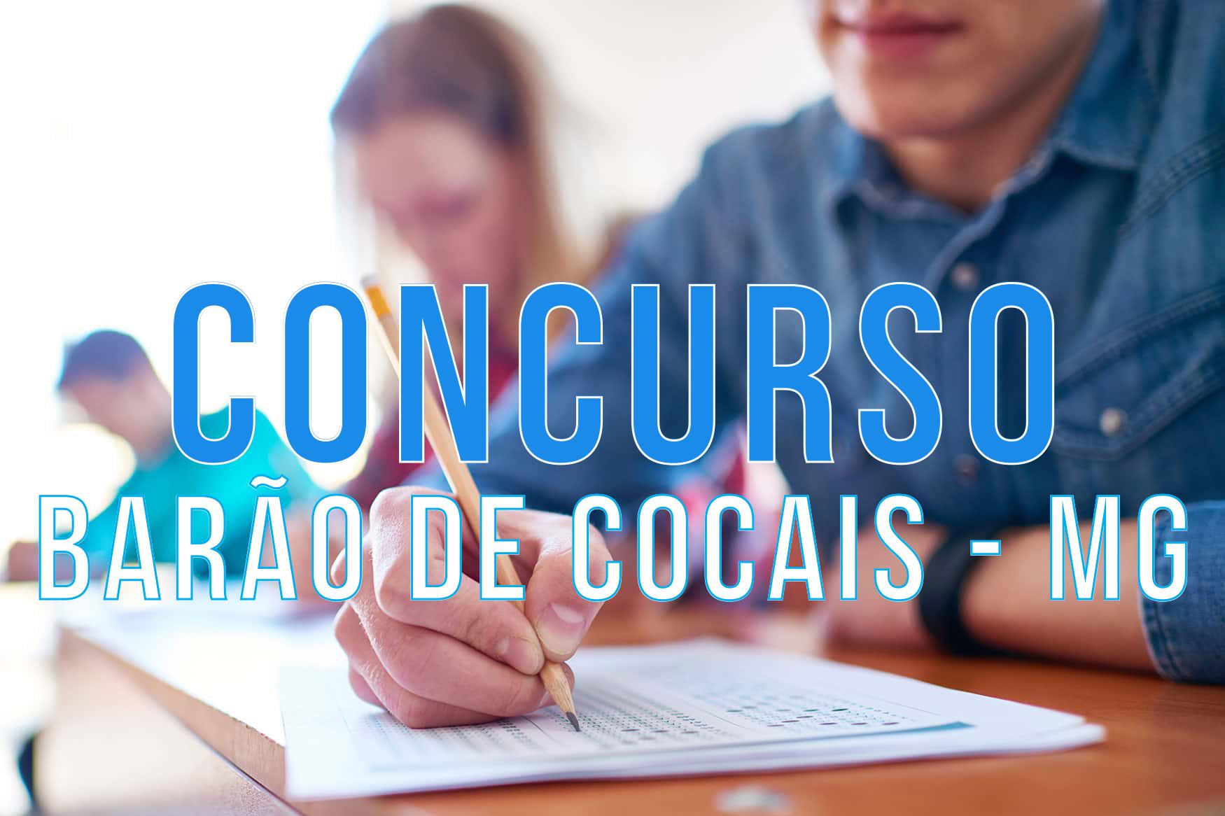 Concurso Prefeitura de Barão de Cocais - MG: mais de 150 vagas