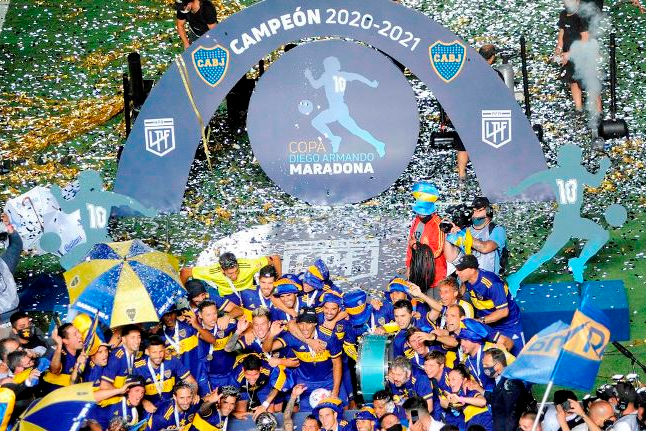 Federação Argentina de Futebol muda o nome da Copa Diego Maradona