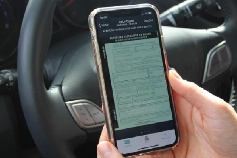 Licenciamento de Veículos no formato digital passa a ser adotado também em Minas Gerais