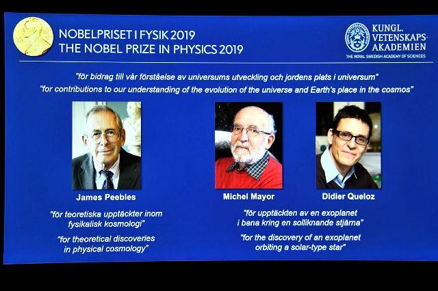Estudo sobre origem do universo dá Nobel de Física a 3 cientistas