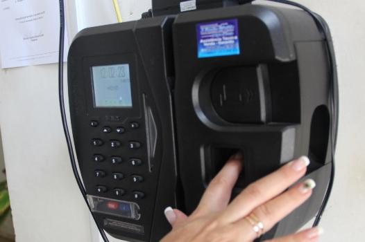 Jornada de trabalho dos servidores da Câmara de Itabira é registrada por ponto biométrico
