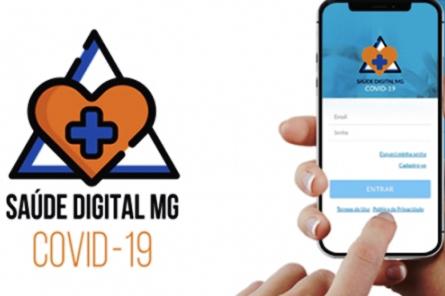 Aplicativo Saúde Digital já foi baixado por mais de 41 mil mineiros